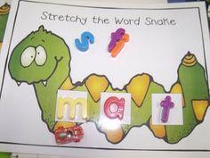 CVC word snake