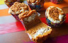 Low Calorie Pumpkin Cream Cupcakes
