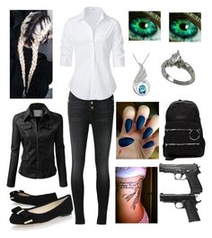 """""""Criminal minds anons (Who wants to do this with me )"""" by bubble-loves-you ❤ liked on Polyvore featuring J Brand, Steffen Schraut, MICHAEL Michael Kors, J.TOMSON, UNIF and Belec"""