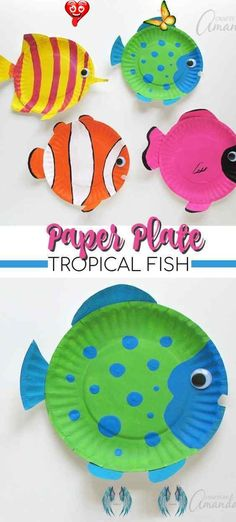 30 Easy Paper Plate Crafts For Kids To Make At Home Paper Plate Crafts For Kids Easy: Simple Paper Plate Crafts For Kids Toddlers. If you're looking for easy crafts for kids to make at home, these arts and crafts for kids, DIY crafts for kids, paper plate crafts for toddlers, paper plate crafts for kids animals, simple paper plate crafts for kids preschool and paper plate crafts for kids art projects are perfect for your family to try out! #paperplatecraftsforkids #crafts #paperplate… Paper Towel Crafts, Paper Plate Crafts For Kids, Animal Crafts For Kids, Summer Crafts For Kids, Crafts For Kids To Make, Toddler Crafts, Art For Kids, Kids Animals, Kids Diy