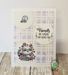Another card made with Friendship stamp set from Craftin Desert Divas Watercolor Cards, Watercolour, Envelopes, Divas, Stamping, Card Ideas, Decorative Plates, Friendship, Deserts