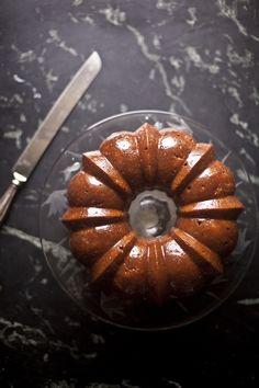 Honey Whiskey Apple Cake | ZoeBakes 06
