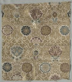 Italy, late 16th century, brocade; silk and metal, Overall: 52.10 x 46.30 cm (20 1/2 x 18 3/16 inches). Dudley P. Allen Fund 1918.906