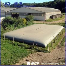1000d pvc biogas digester heay duty inflatable tarpaulin for biogas digester