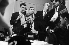- JFK and Bobby at the far right, night of the Wisconsin primary, 1960