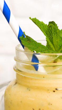 Cocktail Recipes, Cocktails, Food Network Recipes, Cooking Recipes, Frozen Drinks, Vegan Kitchen, Kombucha, Summer Drinks, Summer Recipes