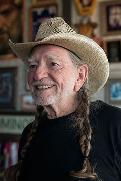 Photo Credit: Wyatt McSpadden. Willie Nelson on his property in Luck, Texas, 2007