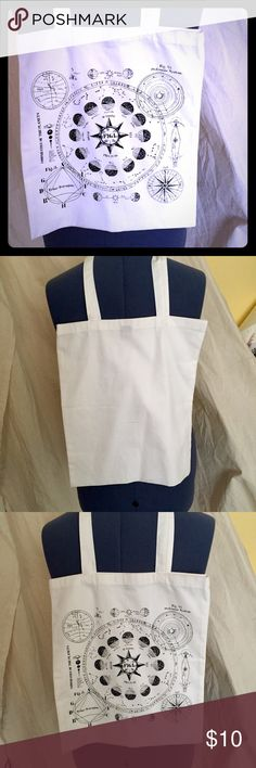 """White cloth tote new never used 14x15"""" White cloth tote new 14x15"""" H&M Bags Totes"""