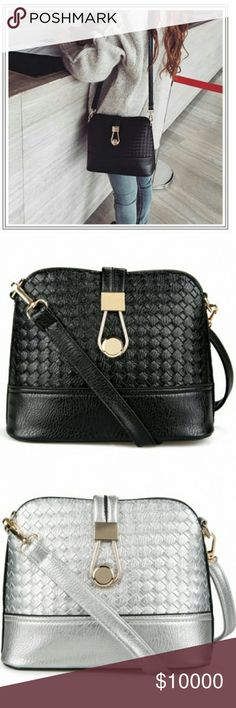 Black crossbody bag Gorgeous black crossbody bag. Great for every occasion. Available in black or silver! (Brand is only for exposure) Coach Bags Totes