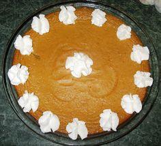 Debbi Does Dinner... Healthy & Low Calorie: Crustless Pumpkin Pie
