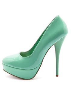 Teal shoes to go with my new necklace : )