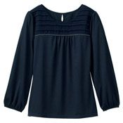 Japanese Online Shop - [IMAGE] Chiffon Front Top - 2012 Spring/Summer Working Women's Office Fashion: JSHOPPERS.com