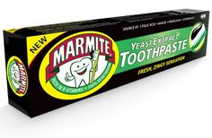 Marmite Toothpaste Marmite, April Fools, Health Diet, Extensions, Hate, Drinks, Board, Sexy, Illustration