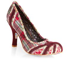 Irregular choice shoes | Irregular Choice Shoes - Irregular Choice Patty Shoes - Red Floral ...