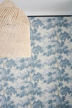 Tree Tops, Home Reno, Wall Patterns, Wall Treatments, Decoration, Light Blue, Tapestry, Wallpaper, Bordeaux