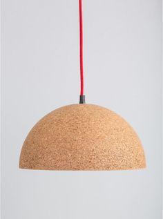 Quopi cork pendant light