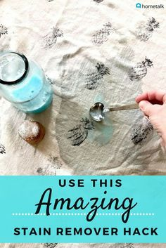DIY stain remover that really works using ingredients in your kitchen. Best cleaning hacks for tough stains. Pour dish soap over baking soda to solve this awful household problem. Deep Cleaning Tips, House Cleaning Tips, Diy Cleaning Products, Cleaning Solutions, Spring Cleaning, Cleaning Hacks, Cleaning Recipes, Hacks Diy, Cleaning Supplies