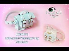 Miniature Doll Leather  Handbag Tutorial For Blythe, Pullip, Barbie (Subtitulado en Español) - YouTube
