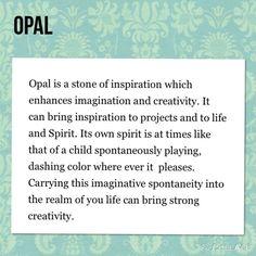 ohmgems Jewelry - GEMSTONE MEANING: OPAL