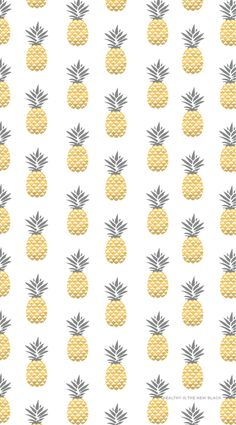 Gold Pineapples Iphone Wallpaper Healthy Lifestyle Wallpapers Enjoy Pineapple