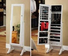 New jewerly storage mirror closet Ideas