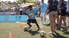 Heard On the Street: At the Manchester City Soccer Festival - Urban Pitch Street Football, East Los Angeles, Boys And Girls Club, S Man, Manchester City, Pitch, Soccer, United States, Running