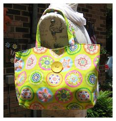 Beach Tote bag / Summer Bag /  Large Tote Bag on Etsy, $28.00 I'm so ready for Summer!!!!