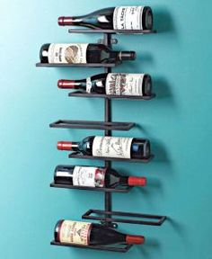 For the burgeoning or expert connoisseur, the Wine Enthusiast collection is perfect for honing your passion. A chic way to both store and display your favorite vintages, this wall wine rack holds 8 bottles and features a smooth black matte finish.  #weddingregistry #bridalregistry #giftregistry #registry  http://www.squidoo.com/becoming-a-wine-expert
