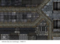 Infinite City Terrain Gaming Mat Is Made For Tabletop Wargaming Games Like Infinity City Games City Wargaming
