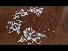Deepam kolam for festival Dot's. Easy chukkala muggulu Easy deepam kolam Thanks for watching 🙏🙏 Please like share comment below for more videos subsc. Indian Rangoli Designs, Rangoli Designs With Dots, Beautiful Rangoli Designs, Kolam Designs, Rangoli Patterns, Rangoli Ideas, Kolam Rangoli, Free Hand Rangoli Design, Small Rangoli Design