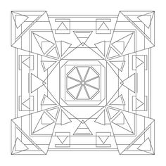 Coloring Mandalas: Turning Point