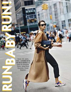 visual optimism; fashion editorials, shows, campaigns & more!: run baby run: sam laskey by adrian mesko for glamour france november 2013