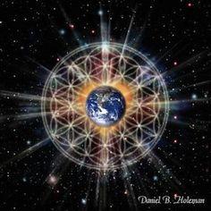 Les sons primordiaux créent des géométries sacrées dans la matrice. Les sons sont en quelque sorte des codes d'information transférés à la matrice, qui les transcrit en formes. Sons et géométries sont deux expressions vibratoires jumelles d'un même schéma directeur.  La géométrie est le fondement de l'univers dans tous ses aspects. Elle est présente aussi bien au cœur des atomes que dans la construction des molécules, des planètes et des galaxies.