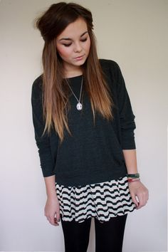 thinking about ombre hair....i swore i'd never dye my hair again after the black hair fiasco in college
