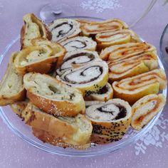 Yemek, sağlık, moda ve güzellik adına herşey...: Rulo Poğaça (3 çeşit)