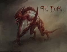 Creature Concept by HELMUTTT