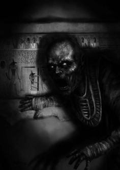 Sine Requie: Mummia del Louvre Asterion Press   Digital Painting