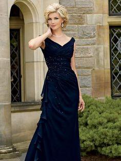 Vestido de Festa Longo para Mãe de Noiva(o) - 30230 - Vestidos de Festa - Levestito Especializada em Vestidos de Festa