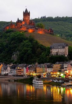 Cochem Castle, Germany.