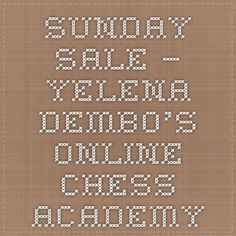 Sunday Sale – Yelena Dembo's Online Chess Academy Slow Cooker Recipes, Crockpot Recipes, Cooking Recipes, Tomato Basil Sauce, Make It Simple, Tomatoes, Easy Meals, Food, Chess