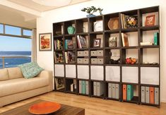 large wooden cube storage ideas