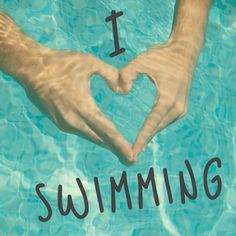 I love swimming, my half assed workout plan