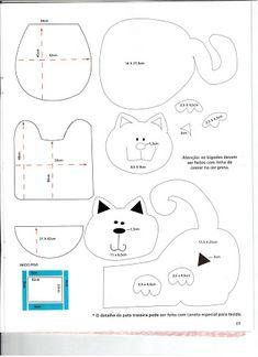 patchwork molde do jogo de banheiro - Pesquisa Google