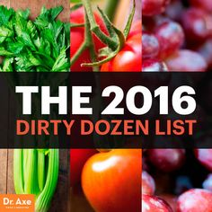 Pesticide foods - Dr. Axe
