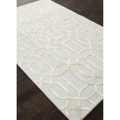 Mehry Rug in Blue & Ivory