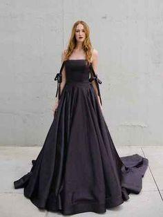 Black People 2018 Bride Dress