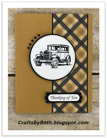 Crafts by Beth: Masculine Cards