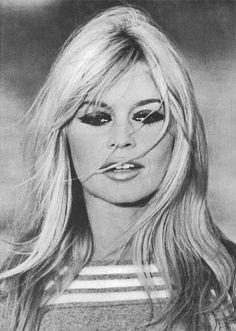Brigitte Bardot on the set of Two Weeks in September, 1966.