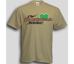 T-Shirt Jagdgeschwader 54 Grünherz / mehr Infos auf: www.Guntia-Militaria-Shop.de