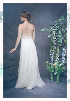 Robe JOHANNE, collection 2018 Atelier Swan #robedemariée #robe #mariée #créateur #nouvellecollection